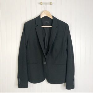 Ann Taylor one button blazer jacket coat 10